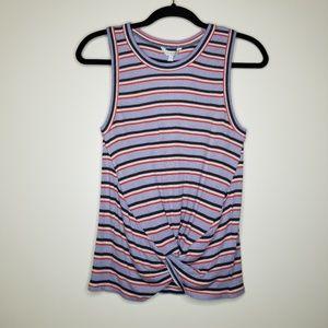 NWT Lucky Brand Multicolored Stripe Sleeveless